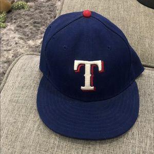Texas Rangers Authentic MLB Hat 7 3/8